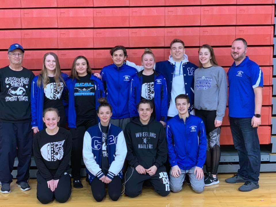 Cambridge Swimming Qualifies 4 for Districts at Ohio State
