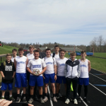 Boys Middle School Track finishes 1st place at Barnesville McDonald's Jr. High Invitational
