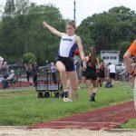 Girls Varsity Track finishes 5th place at Division II Eastern District Track & Field Meet – Day 2