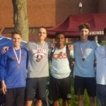 Boys Varsity Track 4x800m finishes 6th in the Region 7 Track & Field Meet – Day 1