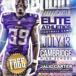 Free Football Camp on July 13th