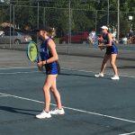 Girls Varsity Tennis beats Claymont 3 – 2