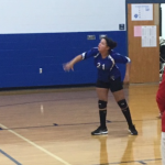 Girls 8th Grade Volleyball beats Coshocton Middle School 2 – 1