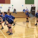 Girls 8th Grade Volleyball beats Coshocton Middle School 2 – 0