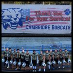 Bobcat Football Team Honors Ohio Army National Guard, Military, and First Responders