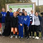Cambridge Cross Country volunteers at the Zombie Stomp 5K