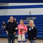 Girls Varsity Basketball beats Carrollton 41 – 38 on Senior Night