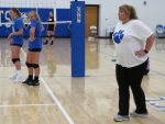 Get to know Bobcat Volleyball Coach, Crissy Booth