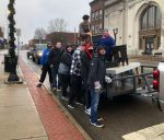 Bobcats Helping Out