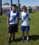 Wilson and Gibson Represent CMS at State Track Meet