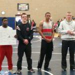 Gateway High School Boys Varsity Wrestling finishes 6th place