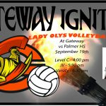 Lady Olys Volleyball vs Palmer HS