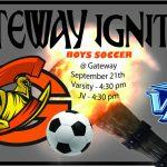 Boys Soccer vs Vista Peak HS
