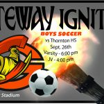 Boys Soccer vs Thornton