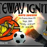 Boys Soccer vs Prairie View