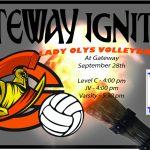Lady Olys Volleyball vs Thornton