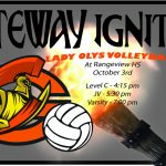 Lady Olys Volleyball at Rangeview