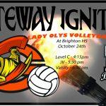 Lady Olys Volleyball vs Brighton
