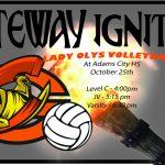 Lady Olys Volleyball vs Adams City