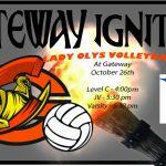 Lady Olys Volleyball vs Hinkley