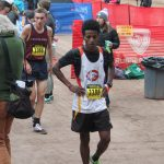 Yonas Mogos Finishes 63th at the 5A State Championship