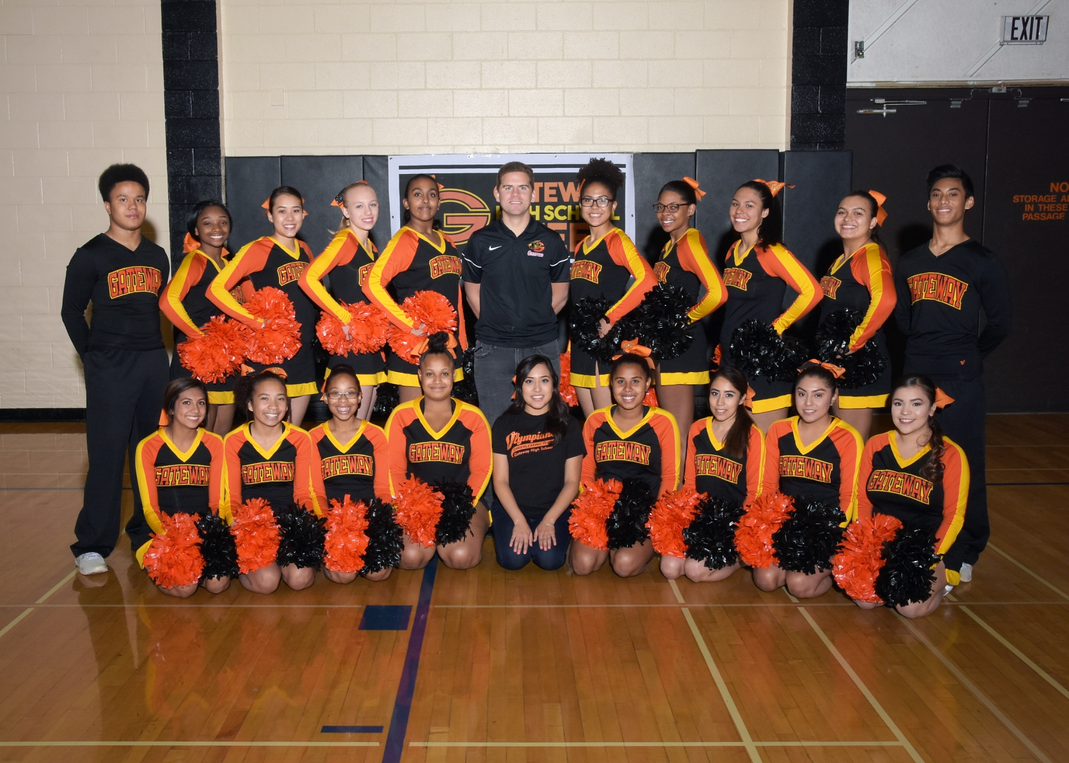 Cheerleading Clinics and Tryouts begin March 19th-21st