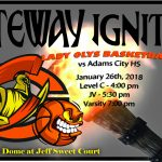 Lady Olys Basketball host Adams City HS