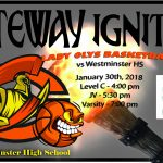 Lady Oly Basketball Team Travels to Westminster HS