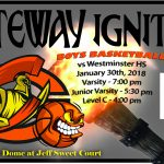 Olympian Boys Basketball Hosts Westminster HS Tonight