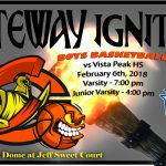 Olympian Basketball Hosts Vista Peak – Feb. 6th