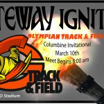 Olympian Track & Field Teams at Columbine Invitational – March 10th