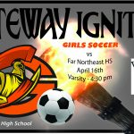 Lady Olys Soccer take on Far Northeast Warriors today
