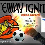 Lady Olys Varsity Soccer Hosts Hinkley HS