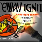 Lady Olympians Varsity Tennis vs Rangeview