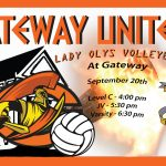 Come Check Out Our Lady Olympian Volleyball Team Tonight