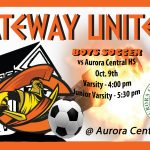 Olympian Boys Soccer travels to Aurora Central