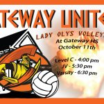 Lady Olys rescheduled Match with Abraham Lincoln is Tomorrow
