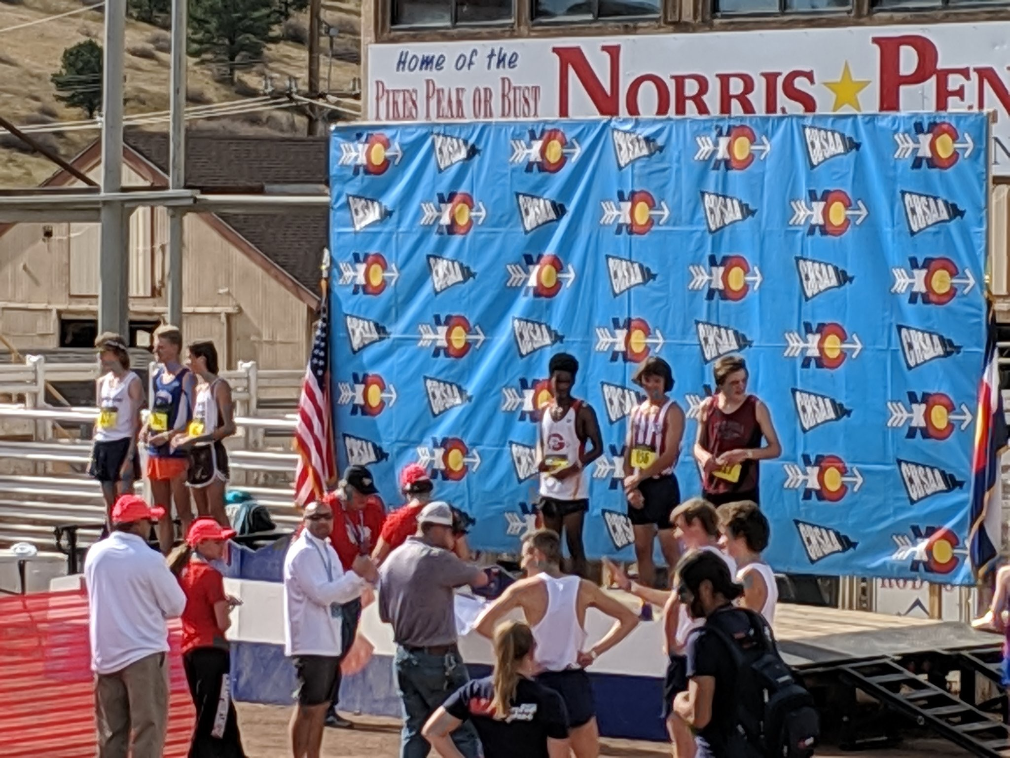 Sr. Yonas Mogos Takes 5th Place in 2018 5A Colorado State Cross Country Championships