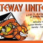 Lady Olys Basketball on the road vs Prairie View HS