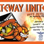 Boys Basketball on the Road vs Cross-town Rival