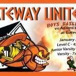 Olympians Boys Basketball Hosts Adams City HS