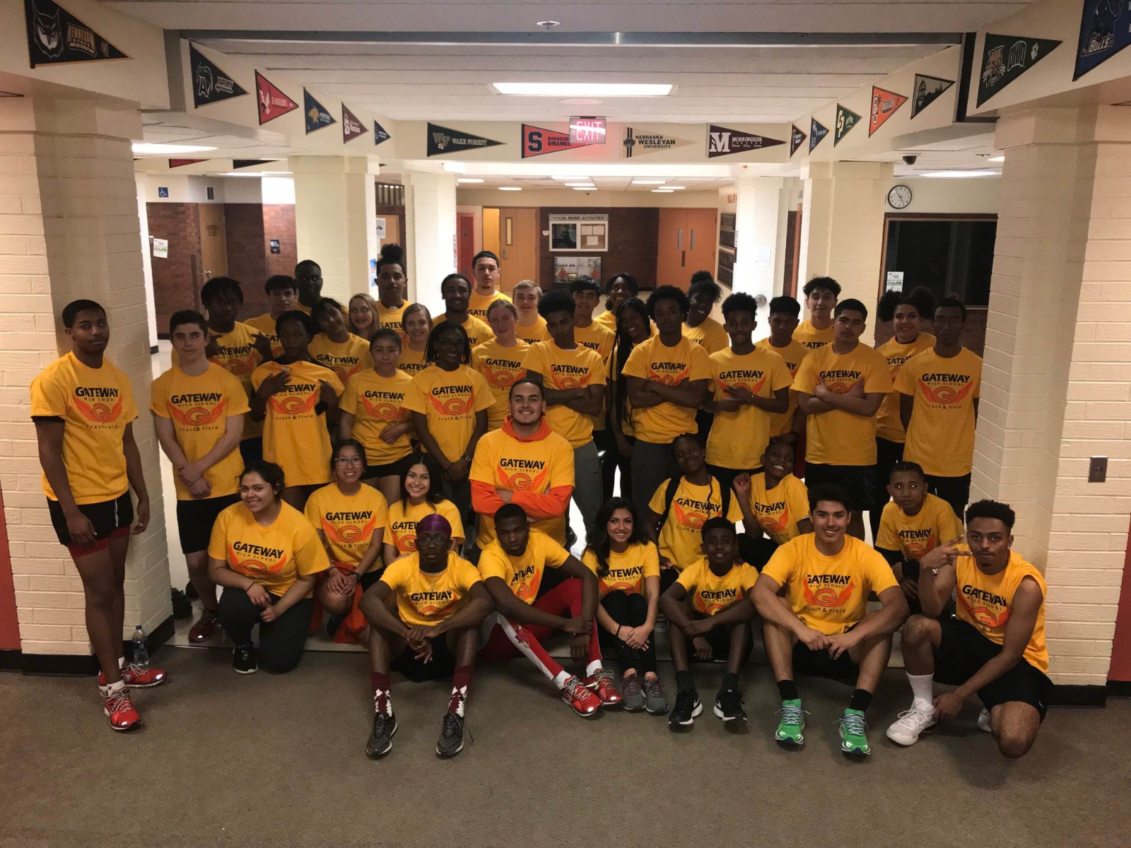 EMAC Track & Field Championship Results – Boys 2nd Place Girls 5th Place