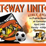 Lady Olympian Soccer host Prairie View HS