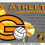 Lady Olys Volleyball on the Road