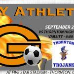 Boys Soccer on the Road vs Thornton HS