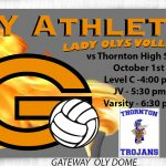 Lady Olys Volleyball hosts Thornton HS