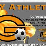 Boys Soccer vs Prairie View HS