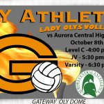 Lady Olympians Volleyball Host Aurora Central