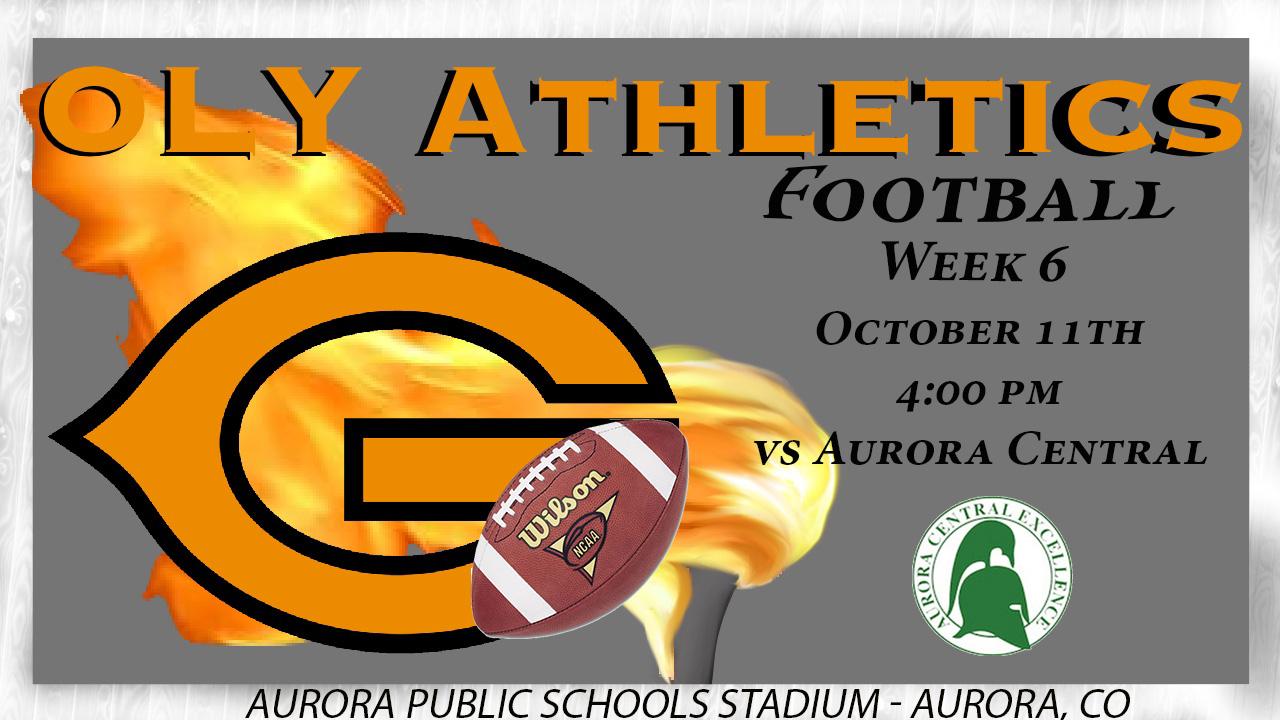 OIy Football vs Aurora Central – Friday