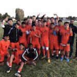 Boys Varsity Soccer beats Aurora Central 4 – 2